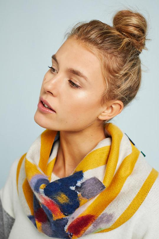 Anthropologie – striped wool cowl – $58.00
