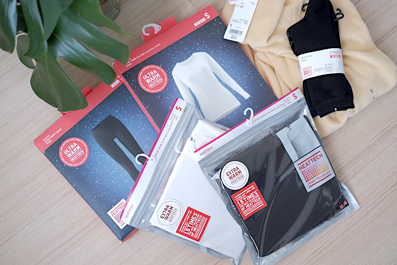 Image result for uniqlo heattech haul