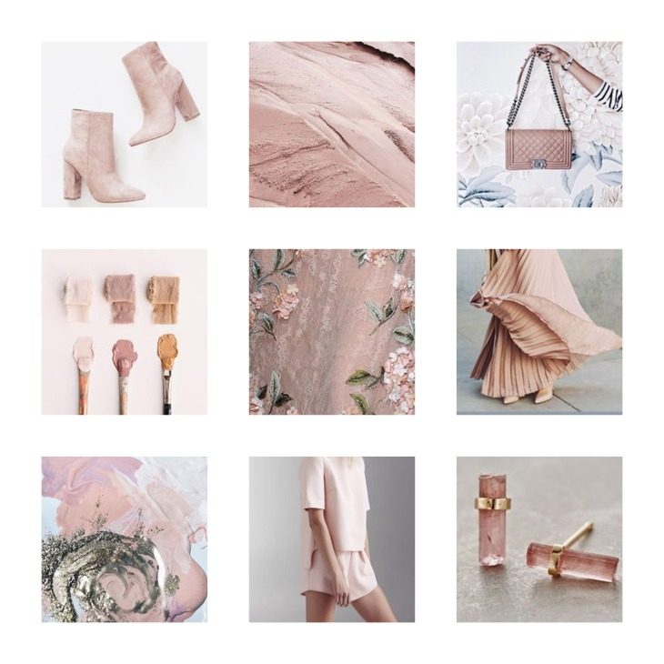 Image result for pale pink fashion moodboard